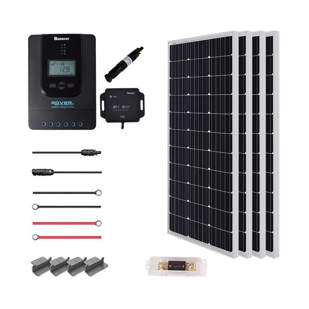 12v Solar Panel Wiring Diagrams For Rvs Campers Van S Caravans