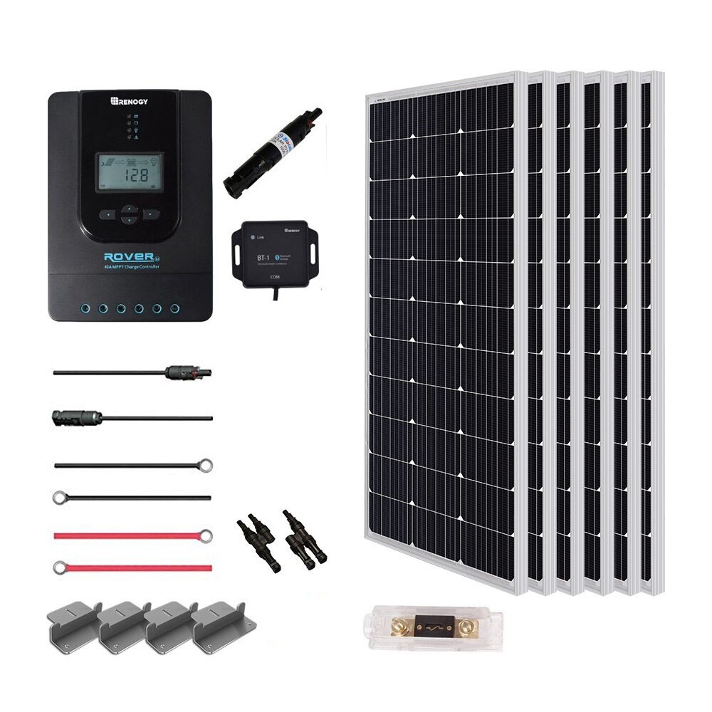 Renogy New 600 Watt 24 Volt Solar Premium Kit