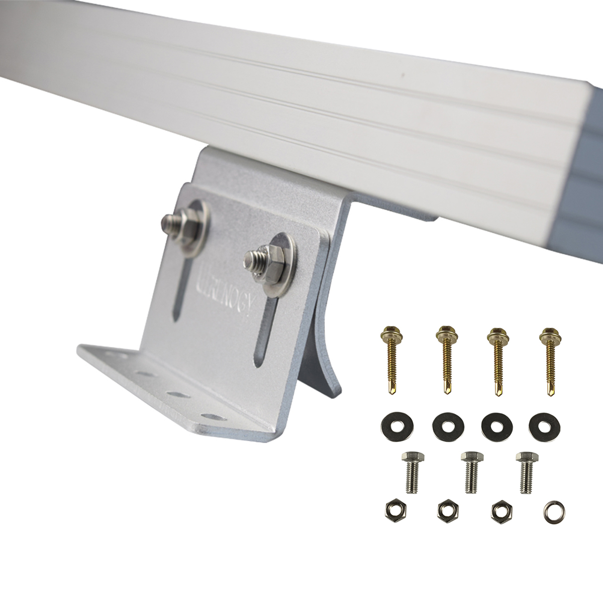 Renogy Curved Z Bracket Mount Solar Panel Roof Wall