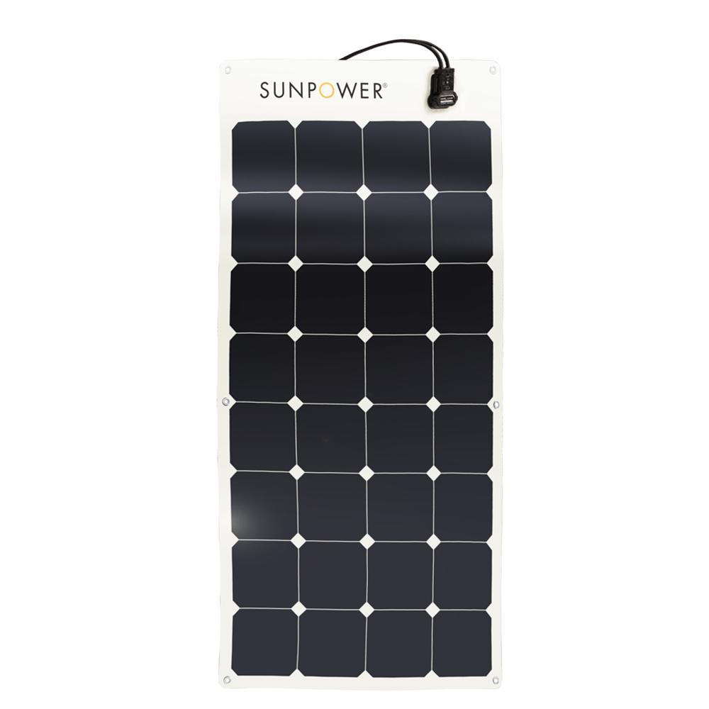 Sunpower flexible 100w solar panel